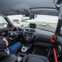 Kia-Soul-EV-Autonomous-Vehicle_Traffic-Jam-Assist, zelfrijdende auto, self driving car
