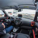 Kia-Soul-EV-Autonomous-Vehicle_Traffic-Jam-Assist, zelfrijdende auto, self driving car