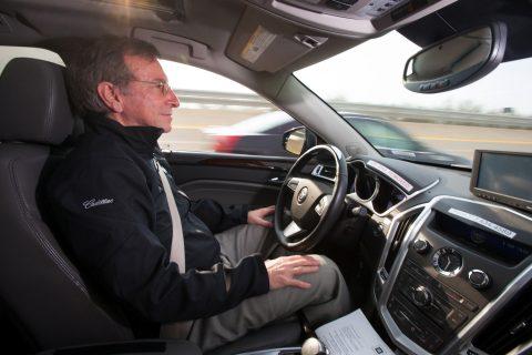 Een zelfrijdende auto van Cadillac. Foto: GM Pressroom