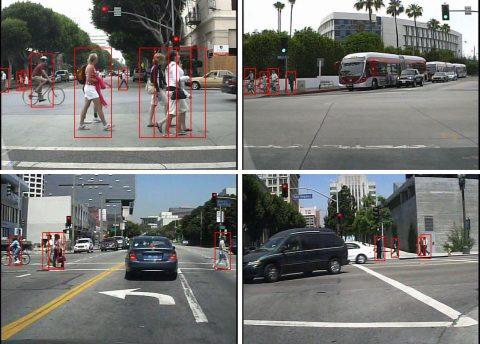 voetgangerdetectie, algoritme
