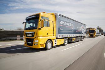 MAN truck platooning 2