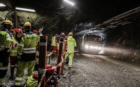 Autonome Volvo, FMX-truck