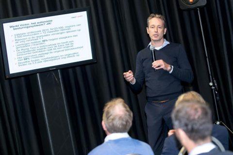 Jorrit Kuipers spreekt tijdens de SDC Summit
