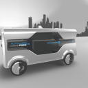 Autolivery van Ford, zelfrijdend