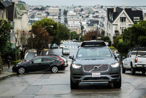 Volvo zelfrijdende auto