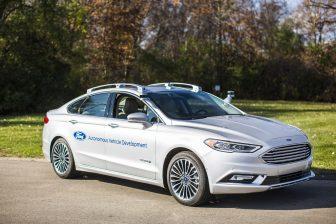 Ford, zelfrijdende auto, zelfrijdend