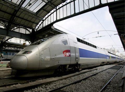 De TGV hogesnelheidstrein van SNCF