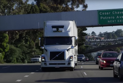 vrachtauto Volvo