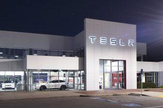 Kantoor Tesla