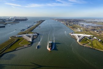 Maeslantkering. Foto Siebe Swart/Port of Rotterdam