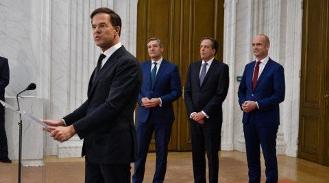Presentatie regeerakkoord Rutte III