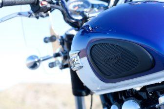 Motorfiets. Foto: Triumph