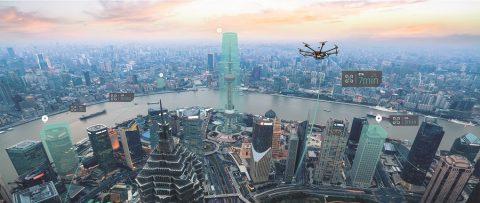 Drone. Foto: HERE
