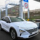 Hyundai NEXO Autonomous Fuel Cell Electric Vehicle Showcase