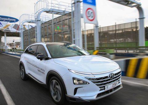 Hyundai NEXO Autonomous Fuel Cell Electric Vehicle Showcase