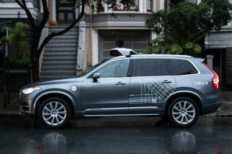 Uber zelfrijdende Volvo