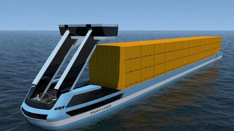 Port-Liner elektrisch schip