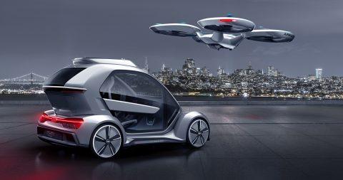 Audi, Italdesign, Airbus. Foto: Italdesign