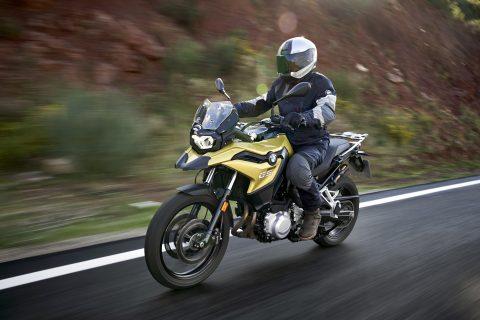 BMW GS motor