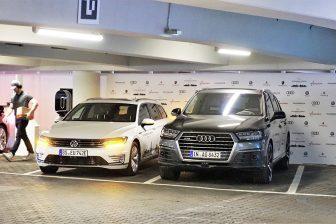 Geparkeerde auto's (foto Volkswagen)