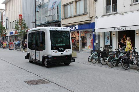 Zelfrijdend voertuig Mechelen, EasyMile