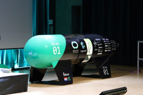 TU Delft Atlas 01 hyperloop-pod