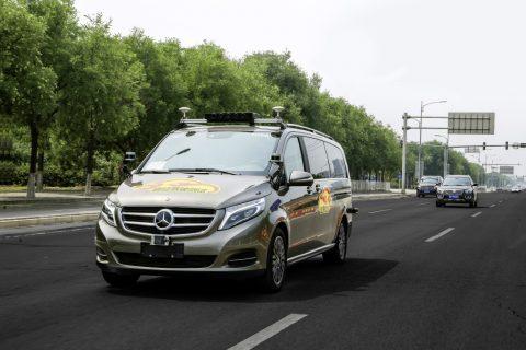Daimler, Mercedes-Benz, Bejing. Bron: Daimler