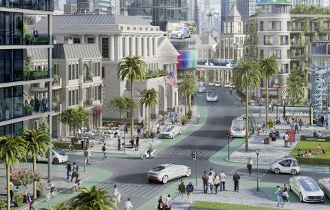 Autonome vloot van Bosch en Daimler in Californië