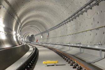 De tunnel van de Noord/Zuidlijn