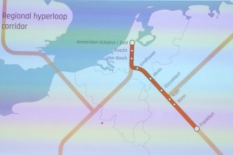 Hyperloopverbinding Amsterdam-Frankfurt