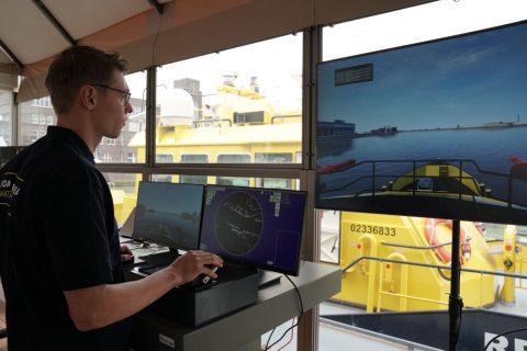Floating lab, bron: Havenbedrijf Rotterdam