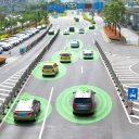 Een smart car (HUD) en autonoom voertuig, foto: iStock