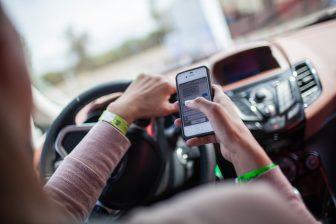 Appen achter het stuur, foto: Ford
