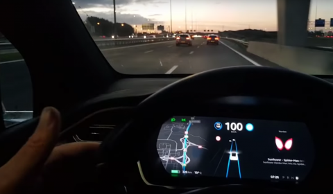 Vlog van Vincent Everts over Autopilot Tesla