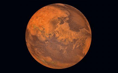 Mars, ruimtevaart. Foto: iStock / manjik (onbeperkt gebruik)